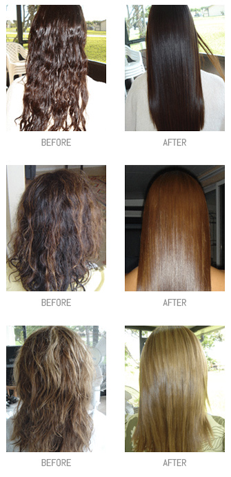 Bkt Natural Keratin Hair Straightening