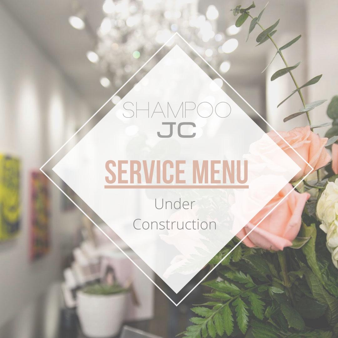 Service Menu Coming Soon